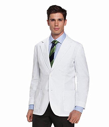 Barco Men's Lab Coat, White 40 by Barco (Image #2)