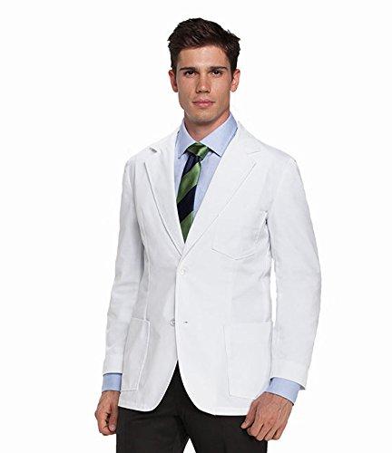 Barco Men's Lab Coat, White 38