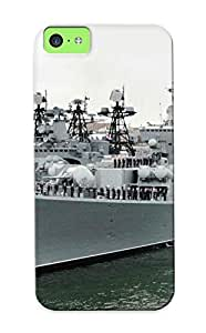 meilinF000Christmas Day's Gift- New Arrival Cover Case With Nice Design For iphone 4/4s- Russia Navy Russian Warship Ship War Red Star SeameilinF000