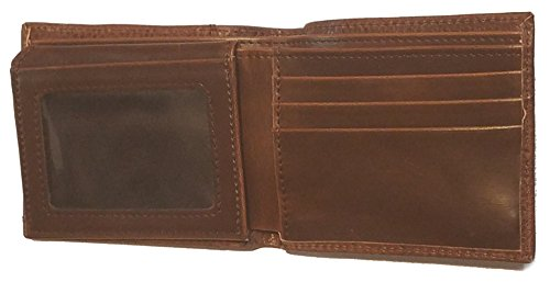Past Hide Brown Bi Hair Wallet Custom on fold Masonic Master BqW7U5