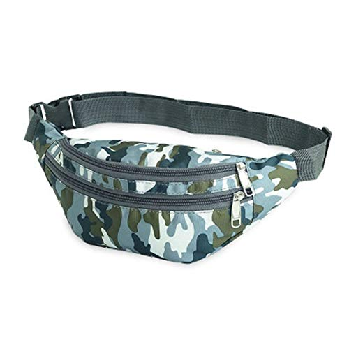 - Travel Bum Bag Bumbag Waist Money Belt Passport Wallet Zipped Pouch Waist Packs,Green