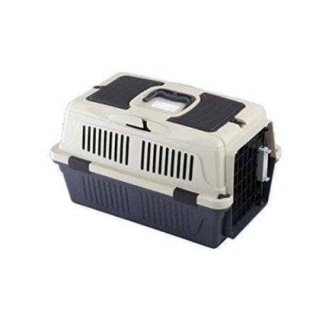 A&E Cage CD-4 Assorted 25 x 16 x 16 in. Deluxe Pet Carrier with Storage Compartment - Case of 6 by A&E Cage