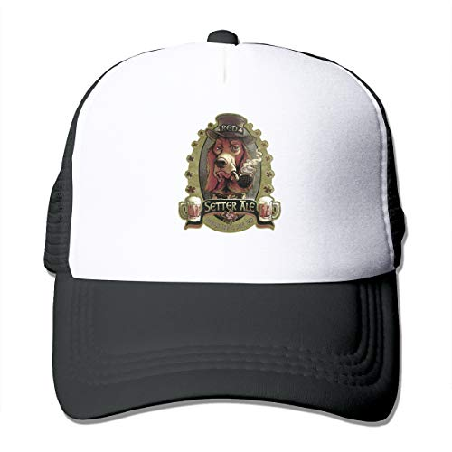 Red Setter Ale Classic Trucker Hat Adjustable Baseball Cap for Men and Women