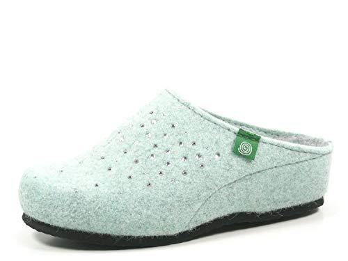Blau 5 pantolette Damen 330160 Dr Bleu Brinkmann q1tx7