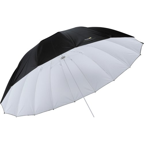 Impact Parabolic Umbrella White Black product image