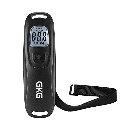 Digital Hanging Luggage Scale GKG 110 pounds Travel Scale with Tare Function