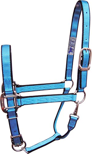 Hamilton Adjustable Quality Pony or Mini Donkey Halter with Snap, 3/4