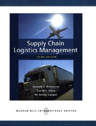 Supply Chain Logistics Management. Donald J. Bowersox, David J. Closs, M. Bixby Cooper