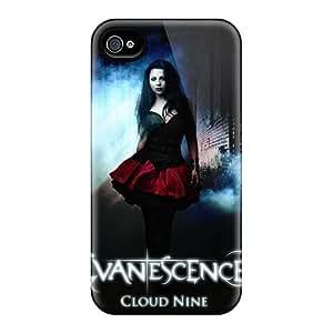 DannyLCHEUNG Iphone 4/4s Anti-Scratch Hard Phone Covers Customized Nice Evanescence Band Series [ceK13535tzTt]
