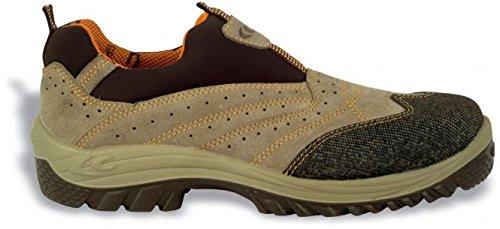 Cofra Porto S1P SRC par de zapatos de seguridad talla 40color caqui