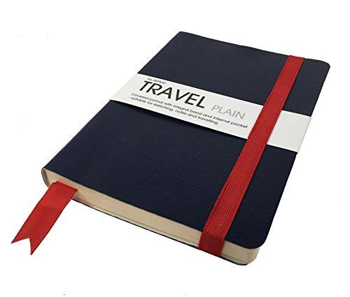 Artway - Reisetagebuch/Skizzenbuch - Zeichenpapier - 120 x 170 mm - 96 Seiten mit 150 g/m² - Blanko Papier