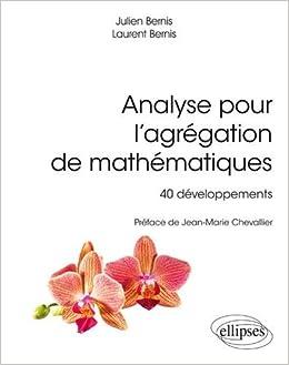 Amazonfr Analyse Pour Lagrégation De Mathématiques 40