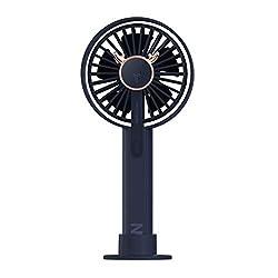 Flexmus Mini Handheld Fan Small USB Charging Rechargeable Personal Portable Desk Table Fan Travel Cooling Fan