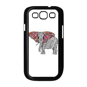 Samsung Galaxy S3 9300 Cell Phone Case Black Bella The Happy Butterphant OJ470717