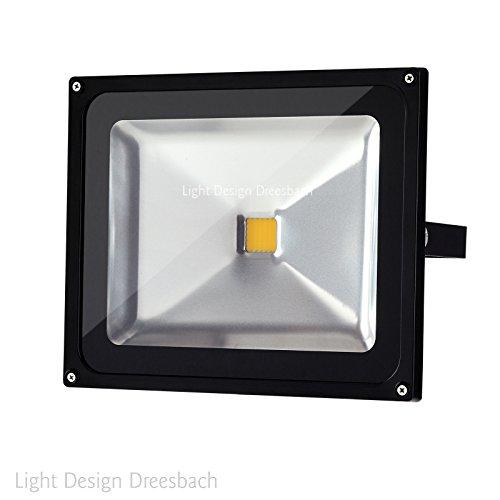 High Quality LED Fluter Strahler Scheinwerfer Flutlicht Aussen, IP65, COB, 2400 Lumen,  30 Watt, 3000 Kelvin, Warm Weiß: Amazon.de: Beleuchtung Good Ideas