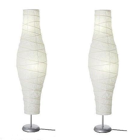 ikea unique shade rice paper floor lamp set of two dudero floor lamps base diameter - Ikea Paper Lamp