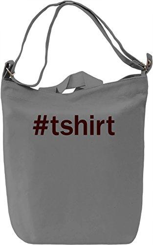 Hashtag Borsa Giornaliera Canvas Canvas Day Bag| 100% Premium Cotton Canvas| DTG Printing|