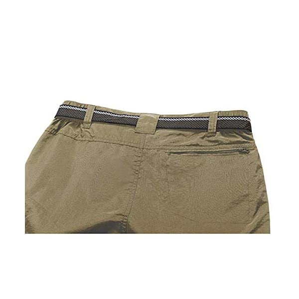 Hiking Men/'s Pants Trousers For Man 1Pc Zip Off Convertible Sport Lightweight