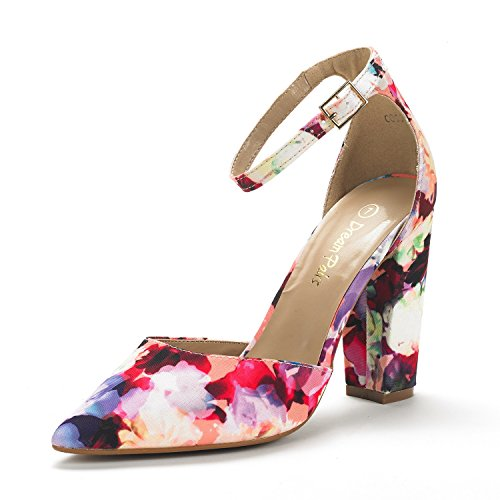 DREAM-PAIRS-Womens-Coco-Mid-Heel-Pump-Shoes