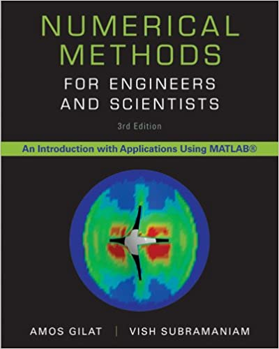 Numerical methods for engineers and scientists, 3rd edition.