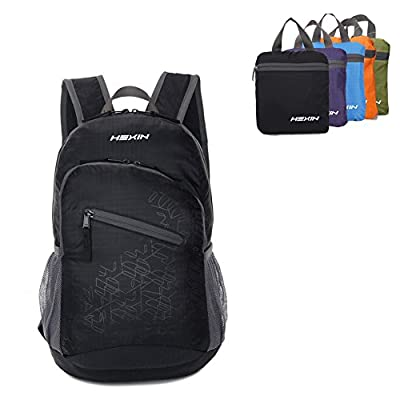 HEXIN Rated 20L/33L Lightweight Waterproof Foldable Backpack Hiking Daypack