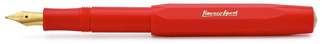 fino Kaweco Sport Classic Stilografica rosso F