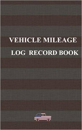 amazon com vehicle mileage log record book designed for american