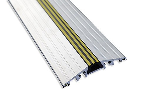 Garadry 1'' Commercial Door Aluminum Threshold Seal Kit by Garadry