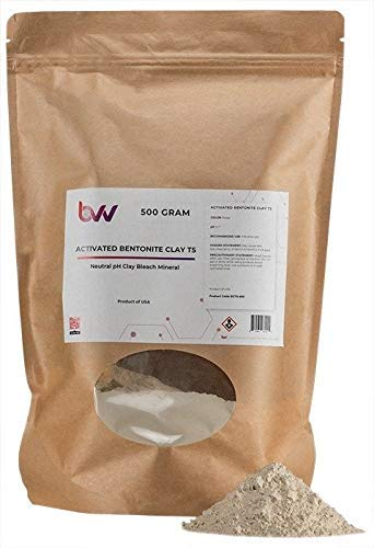 BVV Activated Bentonite Clay T5-500G by BEST VALUE VACS