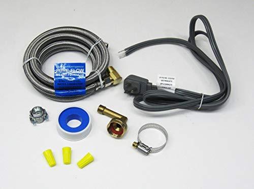 Dishwasher Installation Kit Stainless 72