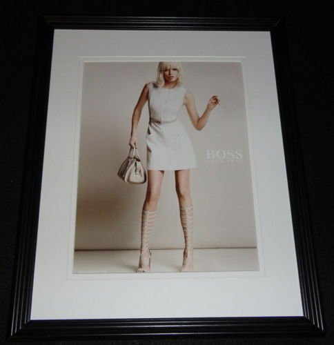 2015 Hugo Boss Framed 11x14 ORIGINAL (Hugo Framed)