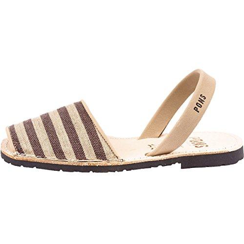 流行邪魔する免除ポンズアバカス レディース サンダル Classic Textile Sandal [並行輸入品]