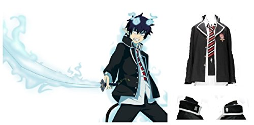 Ao no Blue Exorcist Rin Okumura cosplay costume Jacket and Tie - Rin Okumura Cosplay Costume