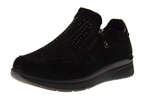 89491 Scarpe Enval Donna Lacci Nero 00 Basse Soft Sneakers Senza 4C4x50qr