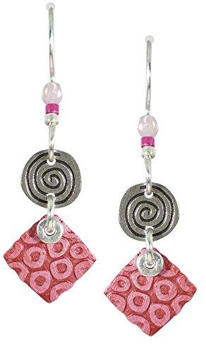 Square Spiral Earrings - 4