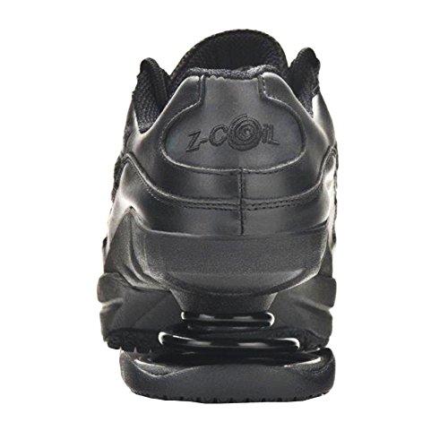 Calzature Antinfortunistiche Antiaderenza Per Le Donne Scarpa Da Tennis In Pelle Nera Antiscivolo E Antiscivolo Nero