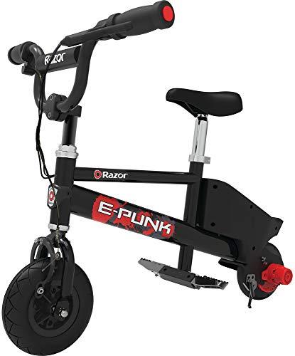 Razor E-Punk Electric Mirco Bike - Black
