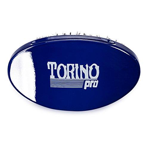 Torino Pro Wave Brush #680 By Brush King - Medium Curve 360 Waves Palm Brush by Torino Pro (Image #2)