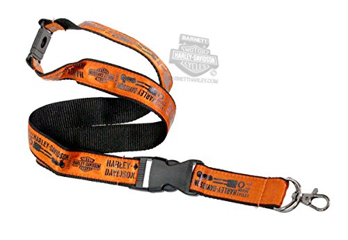 Sublimated Lanyard - Harley-Davidson Panhead Power Trademark B&S Sublimated 19