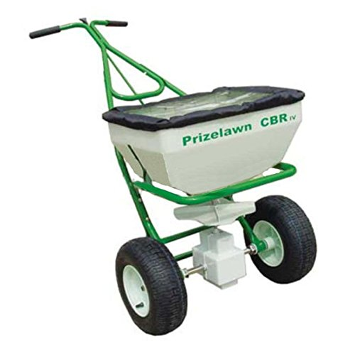 PrizeLawn CBR IV Broadcast Walk Behind Powder Coat Fertilizer 70 lbs Spreader by Prizelawn