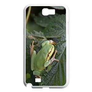 Haygen Frog 6 Samsung Galaxy Note 2 Case, Samsung Galaxy Note 2 Cases for Women {White}