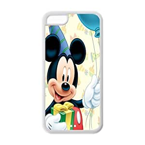 iPhone 5c Case, iPhone 5c cover Case, Mickey Mouse TPU Fashion Case for iPhone 5c Cover Screen Protector