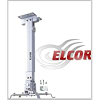 Elcor Heavy Duty (Weight Capacity - 15 KGS) 5FT UNIVERSAL PROJECTOR CEILING MOUNT / Bracket / Stand for LED