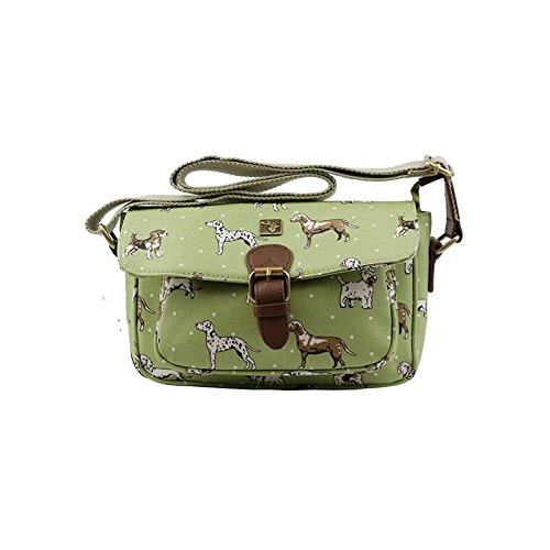 Small Green Funky Funky Satchel Dogs Dogs Small Satchel Dogs Dogs Green nSBw1Hq1