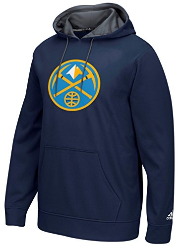 fan products of NBA Denver Nuggets Men's Tip-Off Playbook Hoodie, Large, Navy