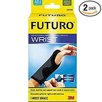 (3M Futuro Reversible Splint Wrist Brace 1 Each ( Pack of 2))