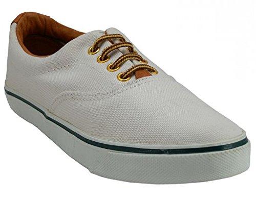 Lacets Chaussures Usa Lacet Classique Toile Bateau Blanc Cassé