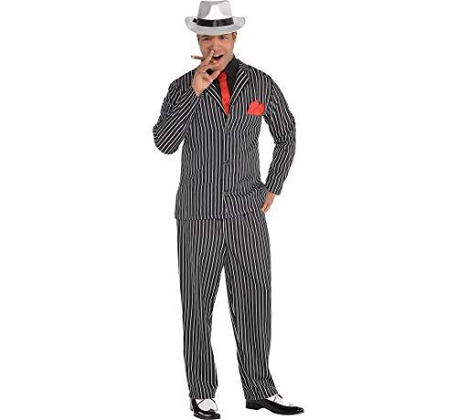 Amscan Adult Mob Boss Costume - Medium (40-42) ()