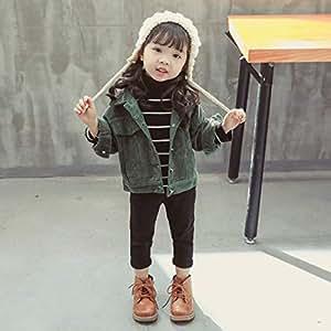 Amazon.com: Corduroy Girls Single Layer Jacket Autumn and
