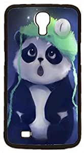 LJF phone case Panda Cute Bear Animal Hard Case for Samsung Galaxy Mega 6.3 I9200 I9205 ( Sugar Skull )